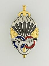 GENUINE French Airborne Pre-Militaire paratrooper qualification jump wings