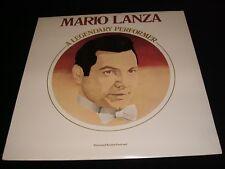 MARIO LANZA<>A LEGENDARY PERFORMER<>SEALED Lp VINYL~Can. Pressing~RCA CRL1-1750