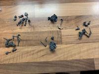 Kings Of War Northern Alliance 2 Ice Kin Hunters 2 Half-Elf Berserkers & A Naiad