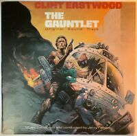 THE GAUNTLET OST LP WARNER BROS UK 1978 EX+ CONDITION PRO CLEANED
