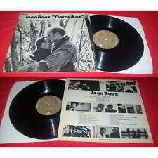 JOAN BAEZ - Carry It On LP ORG French Press Vanguard OST Folk Rock BIEM 71'
