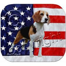 Beagle Patriotic Mouse Pad