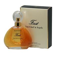 FIRST 100ml EDT  Spray For Women PERFUME By VAN CLEEF AND ARPELS