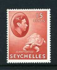 Mint Hinged George VI (1936-1952) Era Seychellois Stamps (Pre-1976)