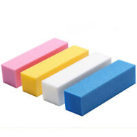 10Pcs Sanding Sponge Nail Buffing Buffer Files Block Grinding Polishing Manicure