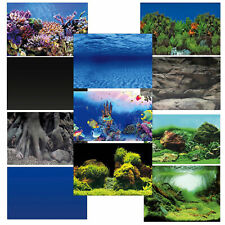Superfish Deco Poster Aquarium Fish Tank Background Double-Sided Pictures