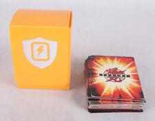 Lot of 24 Bakugan CCG Cards, 19 Metal, VG