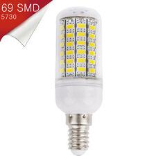 Bombilla Mazorca LED E14 Mignon 69 SMD 5730 360º Blanco Cálido 110-240V - 15W