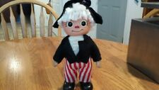 1974 Royalty Industries Raggedy Andy/ George Washington coin bank