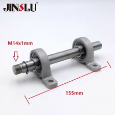 Bearing M14 X 1mm Spindle Shaft For Diy Lathe