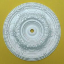 Ceiling Rose Polystyrene Easy Fit Lightweight Size 50 CM 'DOWNTON'