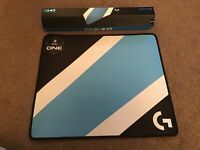 LOGITECH G640 GAMING MOUSE PAD MOUSE MAT ESL ONE EDT NEW & SEALED. LARGE CLOTH