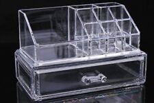 9 scomparto e cassetto organizzatore cosmetici Trasparenti Acrilico Make Up Holder Storage