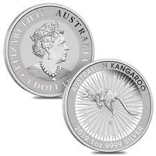 Lot of 2 - 2019 1 oz Australian Silver Kangaroo Perth Mint Coin .9999 Fine BU