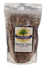1 lb Salted Roasted Almonds Snacks in Resealable Bag from Sohnrey Family Farm