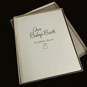 Baby's Own Story Vtg Baby Book Illustrated by Estelle McInnes A Catholic Record