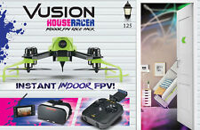 RISE Vusion Houseracer 125 FPV R/C Racing Quad Drone RTF w/ Goggles RISE0207