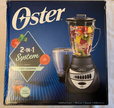 Oster Precise 2 in 1 Blender and Food Chopper - Pre-owned - Gray