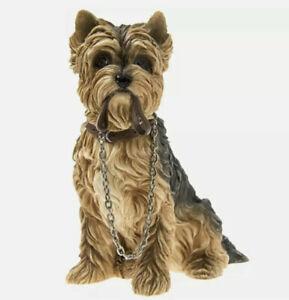 Walkies Yorkshire Terrier Sitting Dog Figurine LP08282 Brand New Boxed