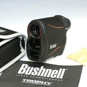 Bushnell 4x20mm Trophy Laser Rangefinder Model 202640 w/ Case & Manual