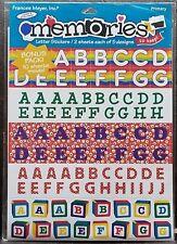 "FM - LETTER & NUMBER STICKERS BONUS PACK - 8.5"" x 11"" - 10 Sheets - LAST ONE!!"