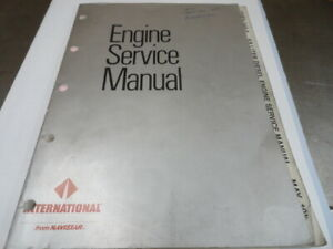 International Engine Service Manual CGES-340-3 6.9 L Diesel
