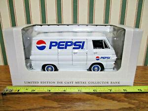 Pepsi 1964 Dodge Van Bank By SpecCast 1/25th Scale >