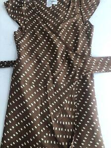 Max Mara Wrap Silk Dress, Size 14(GB)