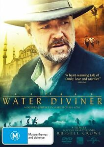 The Water Diviner DVD Region 4 NEW SEALED (c3)