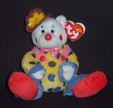 TY JUGGLES theh CLOWN BEANIE BABY - MINT with NON MINT TAG - SEE PICS