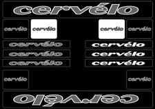 CERVELO Bike Bicycle Frame Decals Stickers Graphic Adhesive Set Vinyl Gray