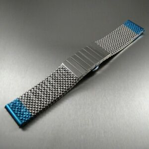 STAIB made in Germany mesh steel bracelet (Milanaise) 24 mm M or L