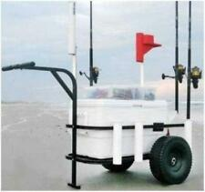 Sea Striker BRSC-DLX Beach Runner Pier Beach Cart Pneumatic Wheels 17214