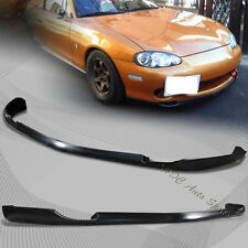 For 2001-2005 Mazda Miata MX5 MX-5 RS Style Front Bumper Spoiler Lip Body Kit