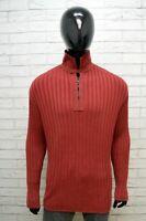 Marlboro Classics Maglione Uomo Taglia XL Cardigan Pullover Felpa Maglia Sweater