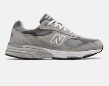 New Balance Mens Made in US 993 Grey with white Free Shipping