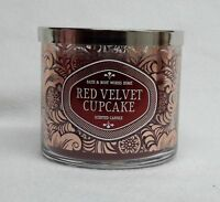 1 Bath & Body Works RED VELVET CUPCAKE 3-Wick 14.5 oz Scented Candle