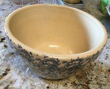 "Robinson Ransbottom Blue sponge ware Mixing Bowl 9"""