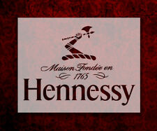 "Hennessy Cognac Brandy 8.5"" x 11"" Custom Stencil FAST FREE SHIPPING (657)"