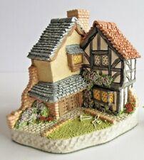 David Winter Cottage 15 LAWNSIDE ROAD Collectors Guild Box 1994 Croquet