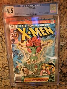 X-MEN 101 CGC 4.5 VG+ FIRST 1st Appearance of PHOENIX White Pages Uncanny 1976