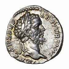 Ancient Roman Coin Septimius Severus 193-211 AD Silver Denarius Rome Mint