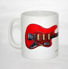 Guitar Mug. Jet Harris' Fender Vl Bass
