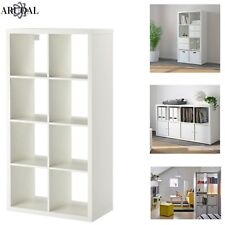 IKEA Kallax White 8 Shelving Unit Display Storage Bookcase Expedit