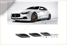 Carbon Fiber Side Air Vent Fender Cover Fit for 2014+ Maserati Ghibli