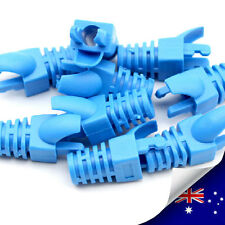 10pcs x Ethernet Cable Connector Cat5 Cat6 Rj45 Strain Plug Cover Boot -New A006