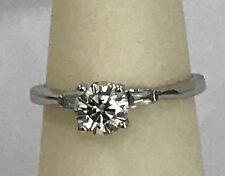 0.85 total carat weight white diamond ring