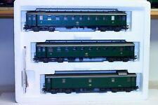 MARKLIN 4394 sncb nmbs coffret de 3 voitures voyageurs époque vapeur