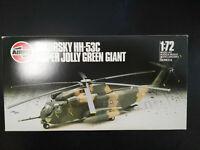 Sikorsky HH-53C, Super Jolly Green Giant, Airfix, Scale:1/72, Kit:06003 Rarität!