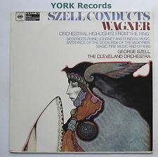 61114 - WAGNER - Great Orchestral Music From The Ring SZELL- Ex Con LP Record